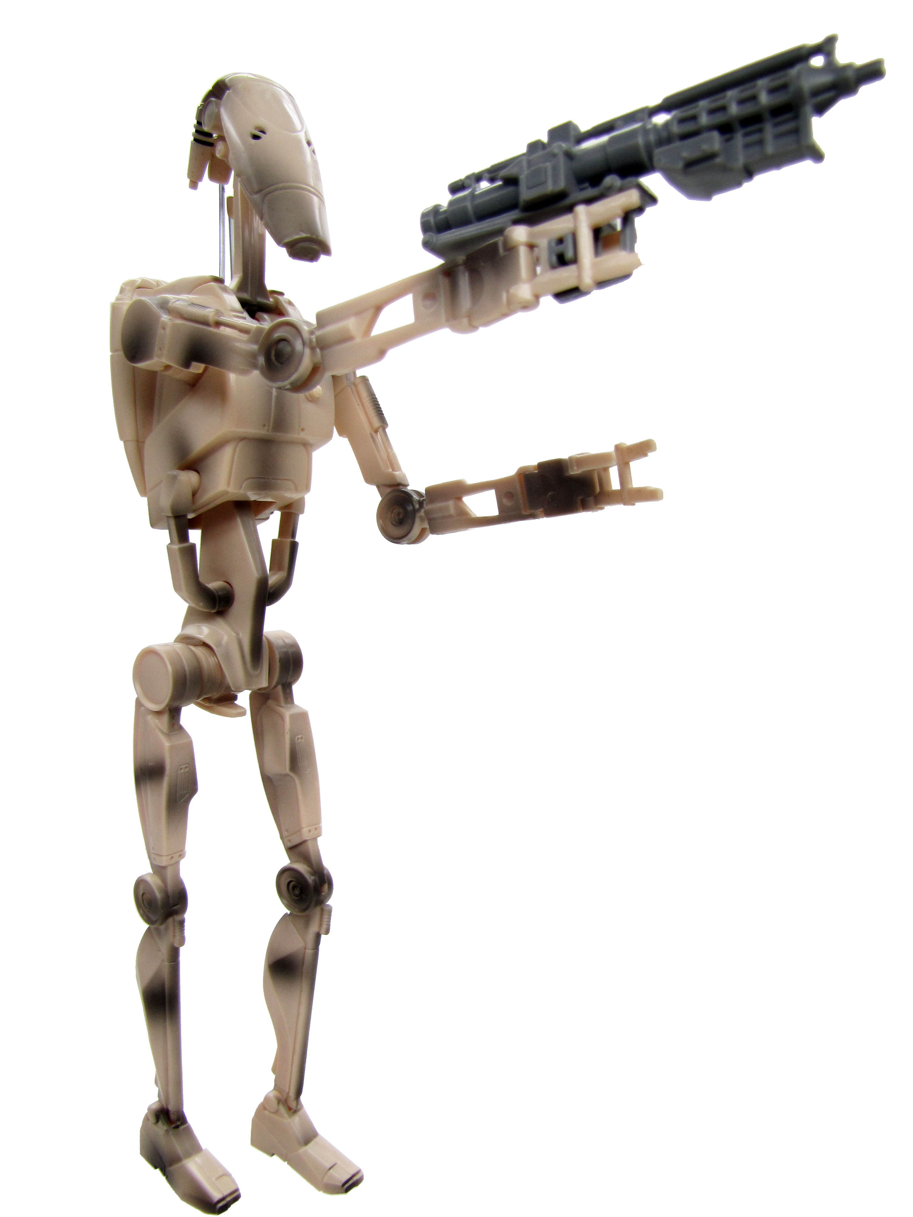"1999 Star Wars Episode I The Phantom Menace 12"" BATTLE DROID"